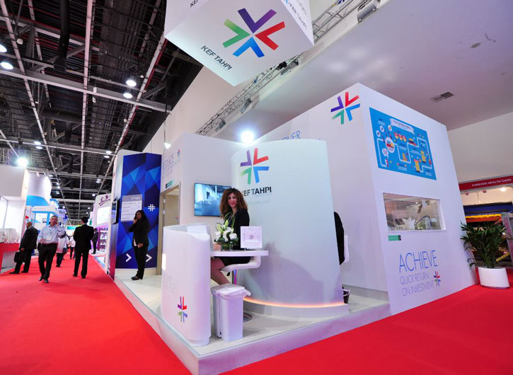 Event planning company, Brand activation events, Arab Health Exhibition KEF Holdings