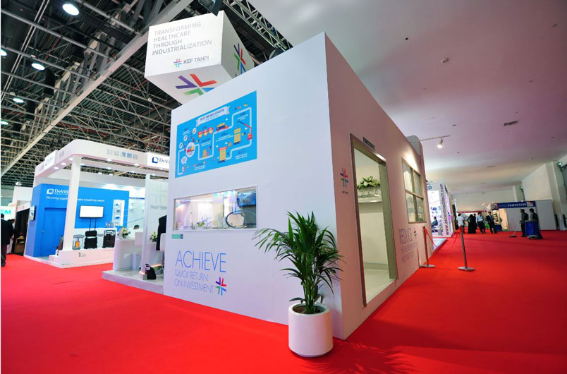 Event management company UAE, Arab Health Exhibition KEF Holdings