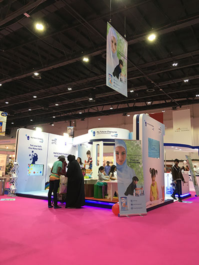 Event planning agency | Brand activations | Mother & Baby Show, Danone Nutricia events in UAE