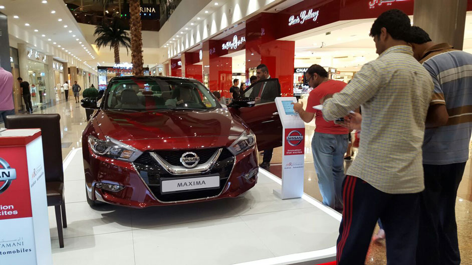 Event planning company, Brand activations events, Nissan Mall Road Show UAE