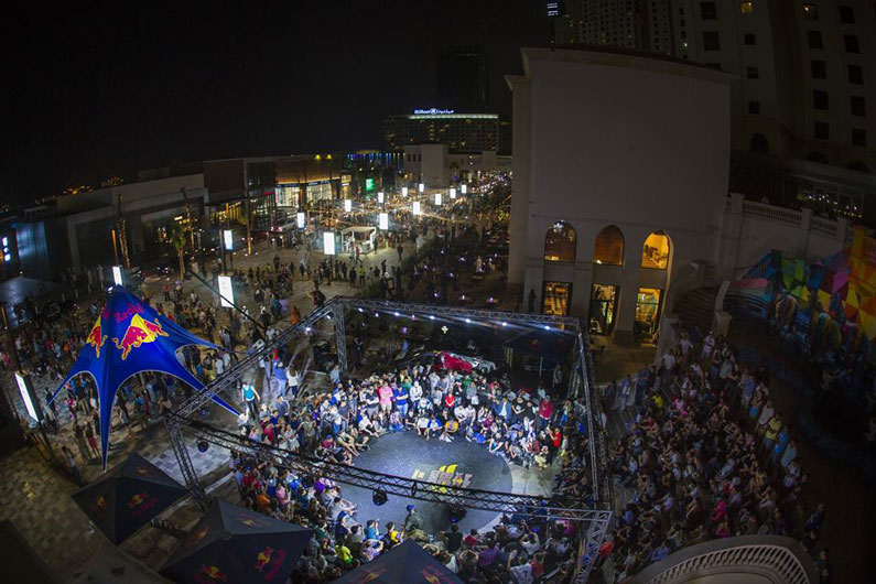 Event planning agency | Brand activations | Redbull event in UAE