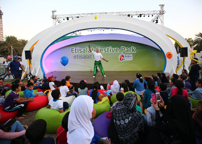 Public events and entertainment company in Dubai, Festive Park Etisalat